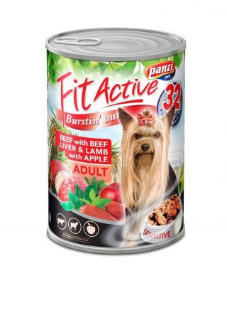 Fit Active Canned Food Beef & Lamb