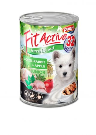 Fit Active Canned Food Junior Goose & Rabbit - 415g