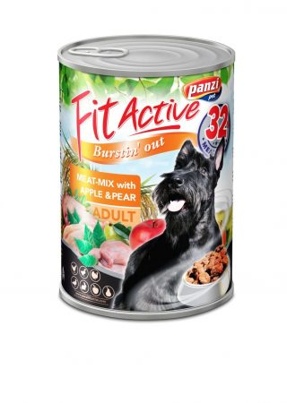 Fit Active Canned Food Meatmix - 415g