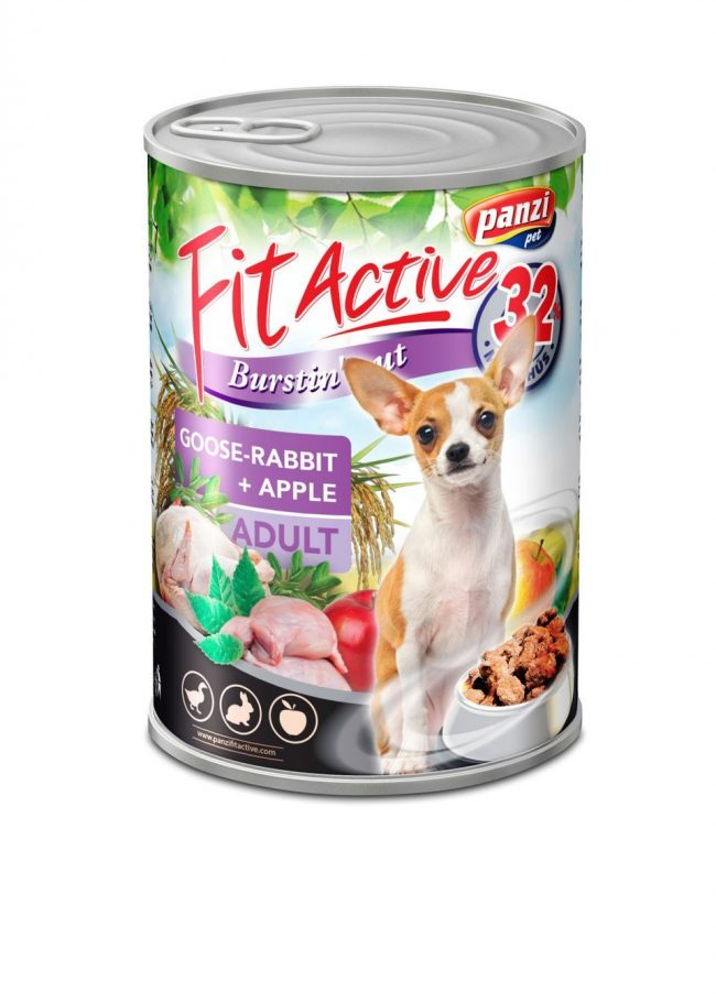 Fit Active Goose & Rabbit 415g