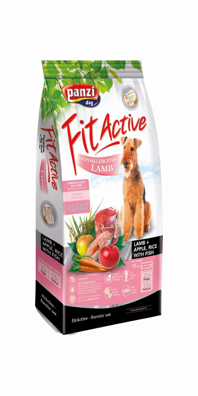 Fit Active Hypoallergenic Lamb 15kg