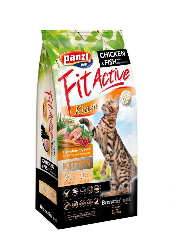 Fit Active Kitten - 1,5kg