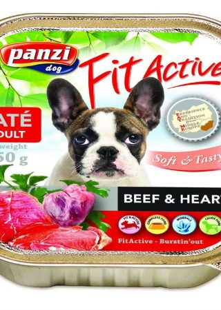 Fit Active Paté Beef & Heart - 150g