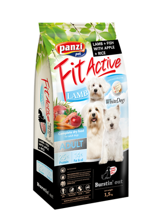 Fit Active White Dogs - 1,5kg