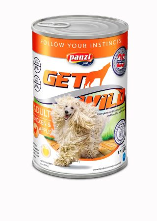 Get Wild Canned Food Chicken & Apple - 1240g