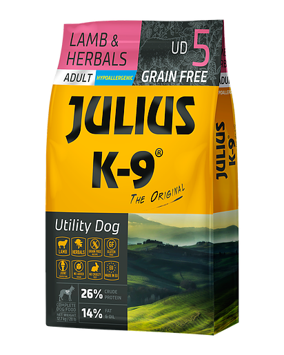 Julius K-9 Lamb & Herbals Adult - 10kg