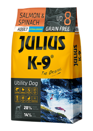 Julius-K9 Salmon & Spinach - 10kg