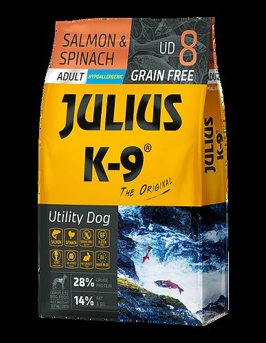 Julius-K9 Salmon & Spinach - 10kg
