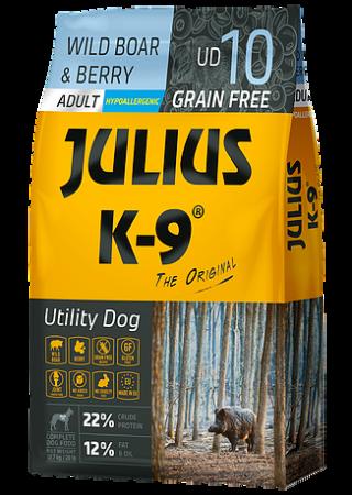 Julius-K9 graanvrij hondenvoer Wild Boar & Berry