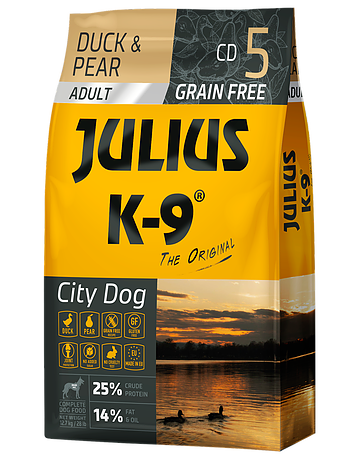 Julius-K9 Duck & Pear - adult - 10kg